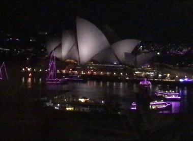Año nuevo en Sydney.