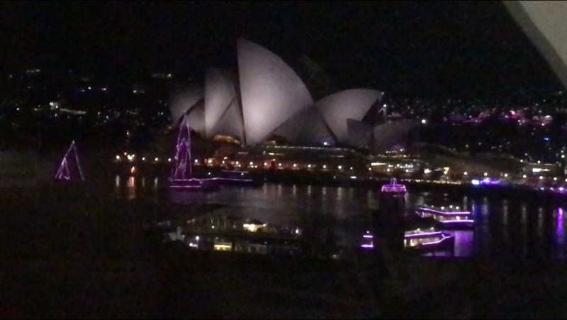 New Year in Sydney.