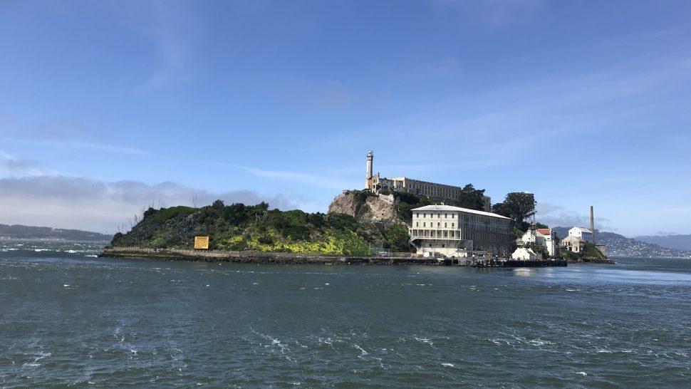 Alcatraz. The Rock. San Francisco.