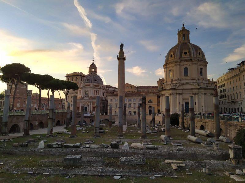 Una de mis zonas favoritas de Roma.