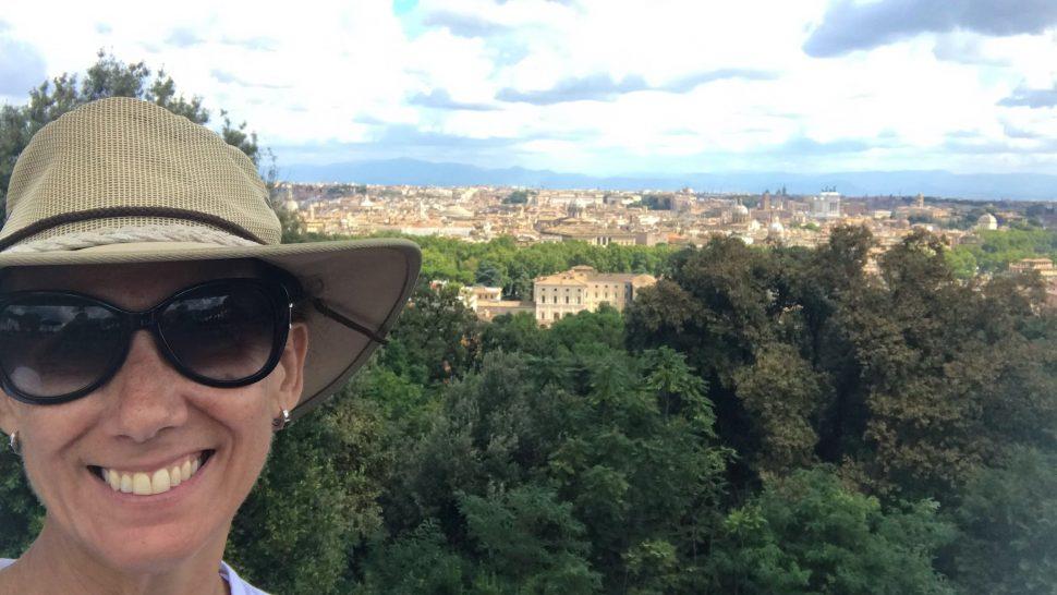Trastevere y Gianicolo. Roma.