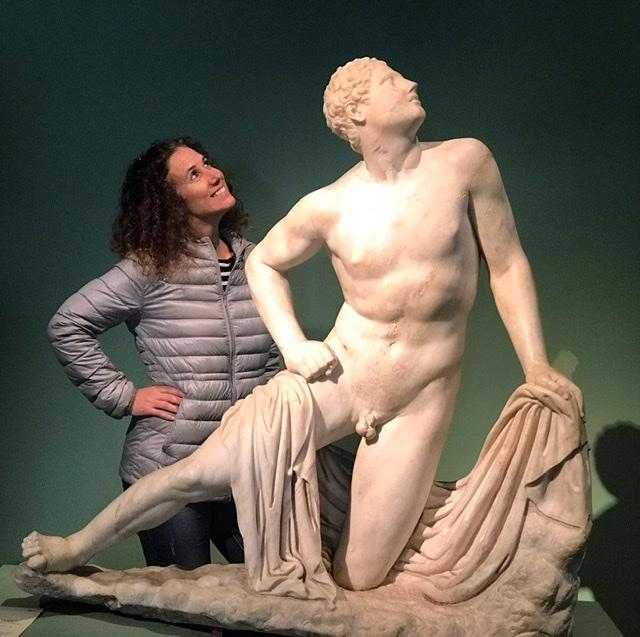 Museos Romanos con Basak.