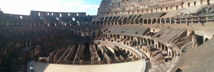 to the arena gladiators