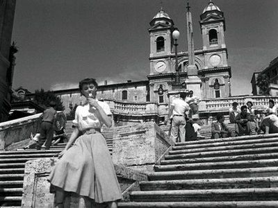 Roman Holiday, our beautiful Audrey.