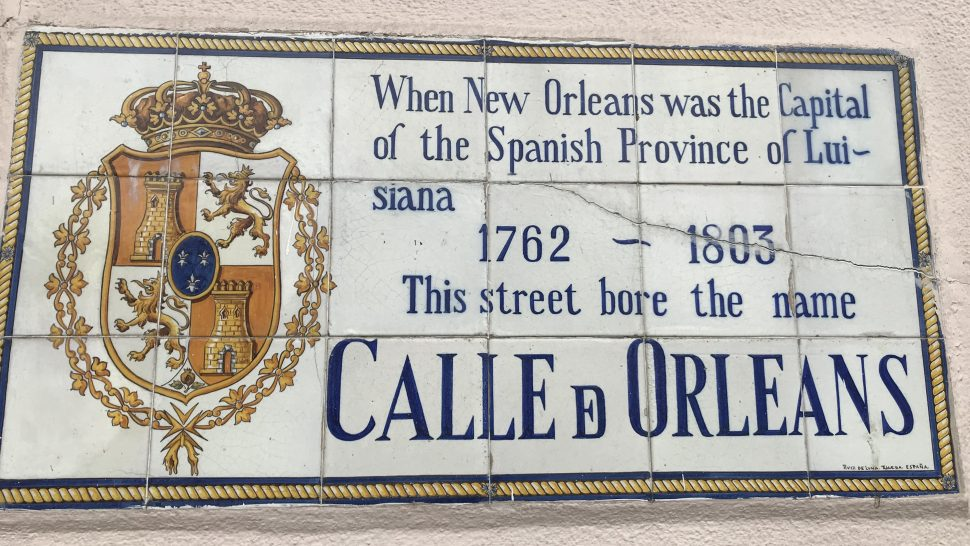 New Orleans, the birthplace of jazz.