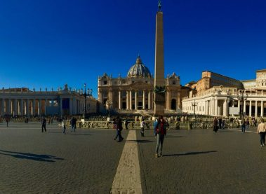 The ways to Rome take us to the Vatican.