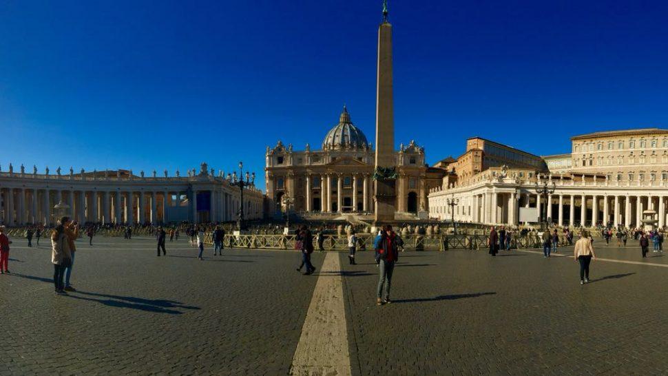 Los caminos de Roma que nos llevan al Vaticano.