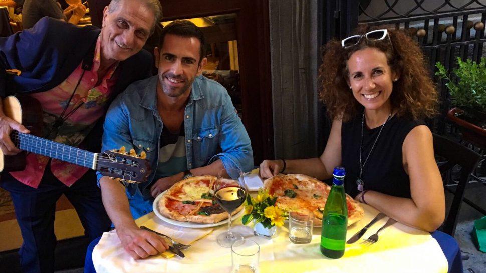 Nápoles con Marco y Frida.