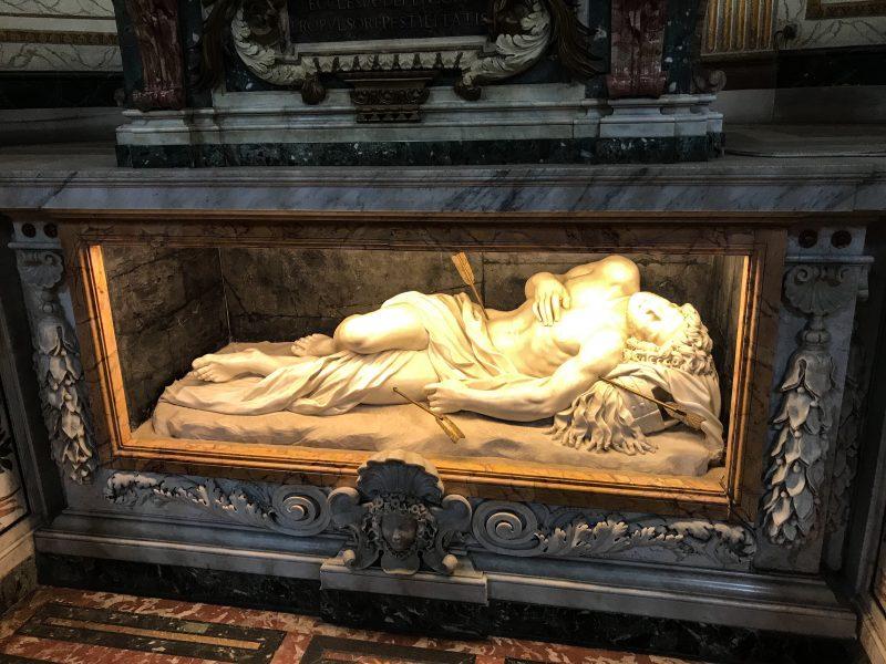 Catedral de Roma, Scala Santa y reliquias.