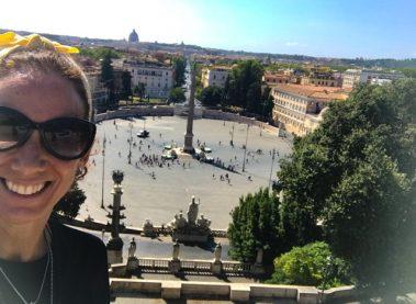 Bernining in Repubblica, Quirinale & Popolo. Rome.